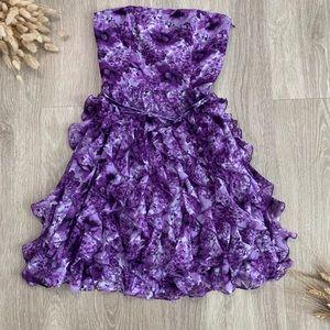 ✨NWT✨White House Black Market Spring Cascade Dress